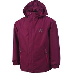 Color Kids Niffer AWG Rain Jacket Girls Magenta Purple